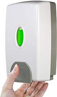 Decdeal 800Ml Wall Mounte Soap Dispenser Hand Sanitizer Shampoo Box Ual High Capacity Abs Plastic For Kitchen Bathroom Hotel