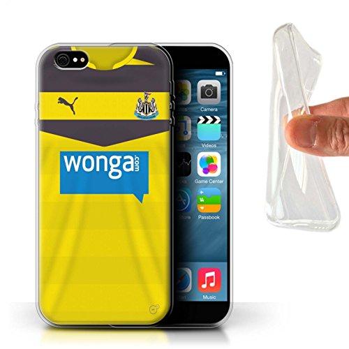 Offiziell Newcastle United FC Hülle / Gel TPU Case für Apple iPhone 6+/Plus 5.5 / Pack 29pcs Muster / NUFC Trikot Home 15/16 Kollektion Torwart