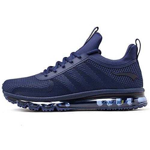 Onemix Air Uomo Scarpe da Corsa Sportive Basse Running Sport Sneaker Blue 42