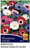 BULBI DA FIORE VARIE SPECIE E COLORI IN BUSTA (anemoni semplici mix, 15 bulbi)