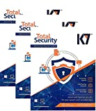 K7 Total Security - 3 PC, 1 Year(CD) [windows_10,windows_8_1,windows_8,windows_7,windows_vista,windows_xp]