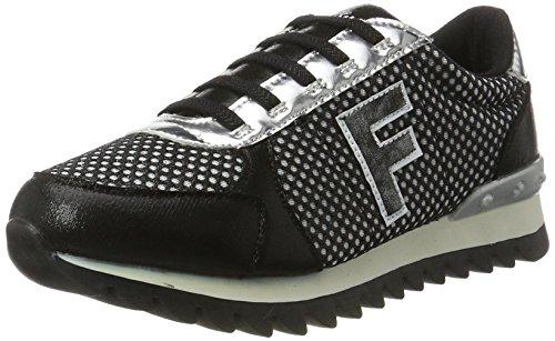Fiorucci FEPK067, Sneaker Donna, Nero, 38 EU