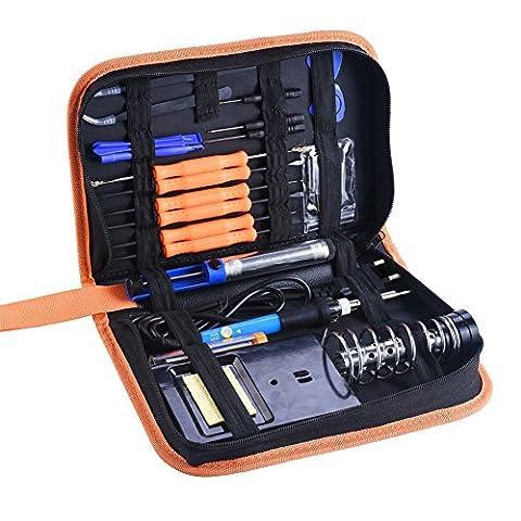MAIKEHIGH 60W 220V kit souder électrique en fer, température réglable,