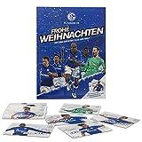 FC Schalke 04 Adventskalender Team 2017 inkl. Autogrammkarten / Schokolade