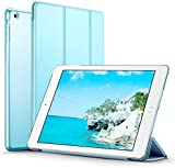 iPad Mini Case, iPad Mini 2 / Mini 3 Case (NOT for iPad Mini 4), ESR® iPad Mini Smart Case Cover [Synthetic Leather] and Translucent Frosted Back Magnetic Cover with Sleep / Wake Function for Apple iPad Mini 1/2/3 (Sky Blue)