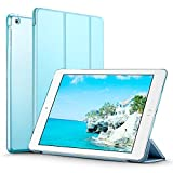 iPad Mini Case, iPad Mini 2 / Mini 3 Case, ESR® iPad Mini Smart Case Cover [Synthetic Leather] and Translucent Frosted Back Magnetic Cover with Sleep / Wake Function [Ultra Slim] [Light Weight] for Apple iPad Mini 1/2/3 (Sky Blue)