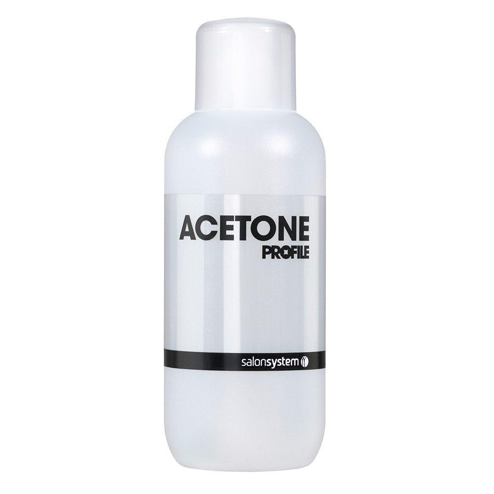 Salon System Profile Acetone Nail Polish Remover 500ml: Amazon.co ...