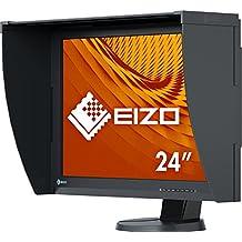 "Eizo ColorEdge CG247X - Monitor Profesional para Fotografía 24"" (Panel IPS Resolución 1920 X 1200, angulo visión 178°, 400 cd, 10 ms, LED, DVI-D, HDMI, DisplayPort), Negro"