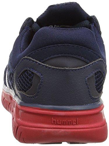 Hummel Hummel Crosslite, Chaussures indoor mixte adulte Gris - Grau (Graphite / Hibiscus 1055)