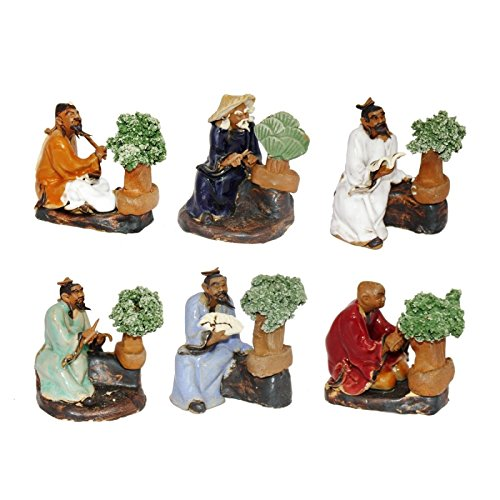 Traditional Chinese Bonsai-Miniatures - Set of 6 - Bonsai Master