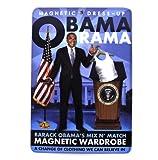 The Unemployed Philosophers Guild Obamarama - Barack Obama Magnetic Dress Up Doll Play Set