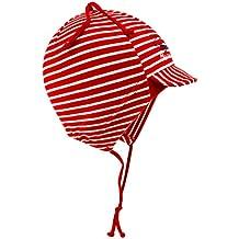 EveryHead Fiebig Gorra De Corbata Gorros Con Cintas Unión Tapa Jersey Sombrero Del Verano Algodón Gorro