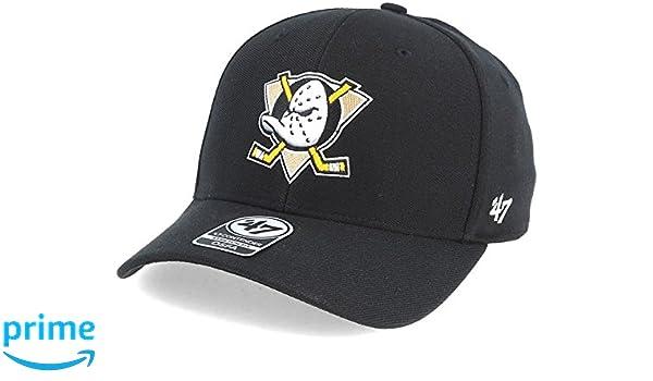 9873b38def5ae  47 Brand Anaheim Ducks Contender Black Flexfit  Amazon.co.uk  Clothing