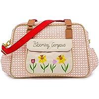 Pink Lining Blooming Gorgeous–Bolso cambiador Bolso para pañales–True Love
