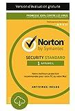 Norton Security Standard - 1 Appareil - Facturation Mensuel [Abonnement 12 Mois Subscription]