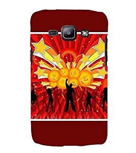 For Samsung Galaxy J2 J200G (2015) :: Samsung Galaxy J2 Duos (2015) :: Samsung Galaxy J2 J200F J200Y J200H J200Gu gymnastics shield vector background, vector background, abstract Designer Printed High Quality Smooth Matte Protective Mobile Case Back Pouch Cover by APEX