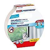 Tesa TE55744-00002-03 Powerbond Transparente 5m x 19mm mancheta, Standard