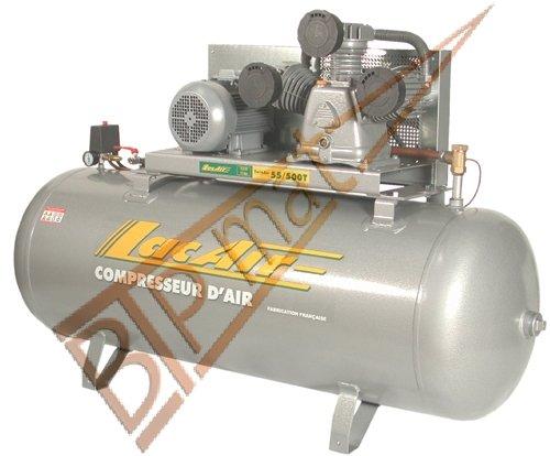Lacme - Compresseur Triphasé Tricylindre 500 Litres - 11 Bar