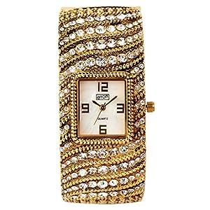 Eton de la Mujer Chic Diamnate Bangle, Fashion Reloj–3232l