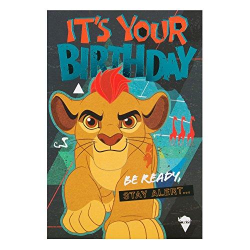 Hallmark Geburtstagskarte Lion King