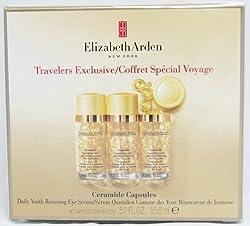 Elizabeth Arden Ceramide Capsules Daily Youth Restoring Eye Serum 90 Capsules Total 0.51 Fl. Oz 15.6 Ml.