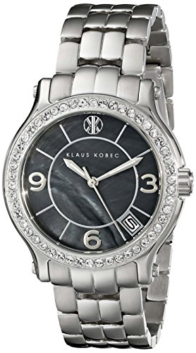 Klaus Kobec Women's KK-10019-22 Venes Analog Display Japanese Quartz Silver Watch