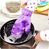 Kitchen Non Stained Cleaning Glove Dishe...
