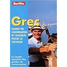 Guide de conservation et lexique pour le voyage : Grec