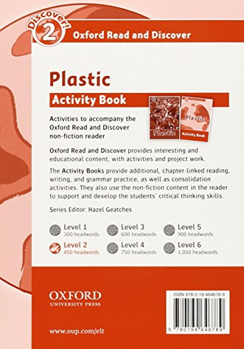 Oxford Read and Discover 2. Plastic Activity Book