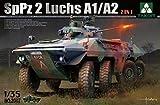 Takom Bundes SPPZ2 Luchs A1/A2 2-in-1 Model Kit (1/35 Scale)