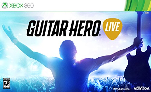Activision Guitar Hero Live Bundle, Xbox 360 - Juego (Xbox 360, Xbox 360, Música, FreeStyleGames, 10/20/2015, RP (Clasificación pendiente), Guitarra)