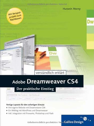 Galileo Design Adobe Dreamweaver CS4: Der praktische Einstieg (Galileo Design)