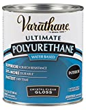 Rust-Oleum 200041H Varathane Polyurethane Clear Wood Varnish/Finish (Water-based | Gloss Clear | 946 ML)