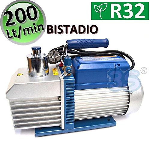 Vakuumpumpe 200 L/MIN 7.0 CFM Unterdruckpumpe 2 STUFIG Vacuum Pump KLIMA R32 -