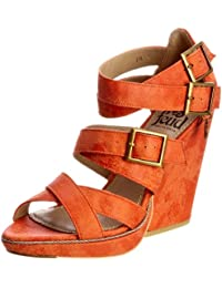 Feud Britannia Wasp 202456046 - Sandalias de lona para mujer, color naranja, talla 36