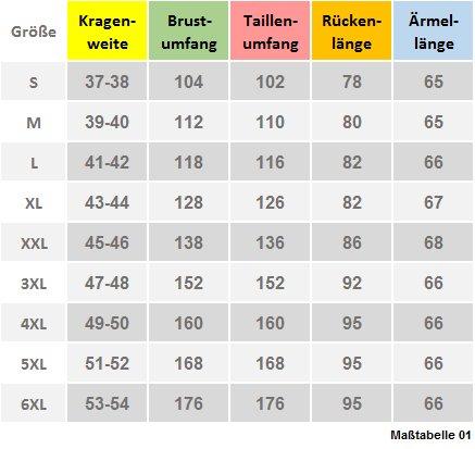Qualitäts Leinen Hemd blau Kurzarm Kent HUBER 0103 bequemer Schnitt S bis 3XL Blau