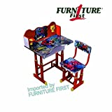 #9: FURNITURE FIRST SPIDERMAN/RED Kids Height Adjustable Study Table & Chair Set With Manual Height Locking System, Maintains Posture & Comfort, Age Between 3-10 Years, Originally Imported By FURNITURE FIRST