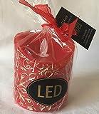 MIGROS LED Echtwachskerze mit beweglicher Flamme Weihnachten