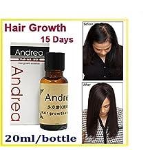 Andrea 20 ml rápido crecimiento del cabello alopecia esencia 20 ml pérdida de cabello líquido Ginger