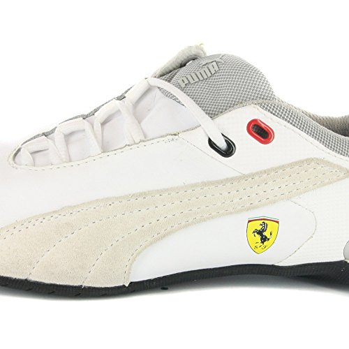 Puma Cat M2 Sf Nm Jr, Chaussures Garçon Bianco (Blanc et beige)