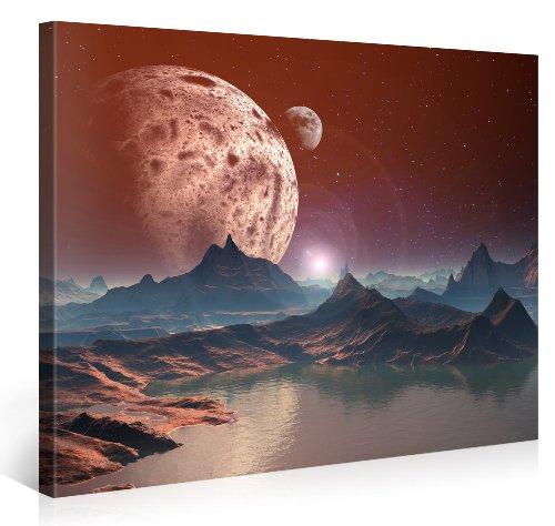 Gallery of Innovative Art - Fantasy Planet - 100x75cm -