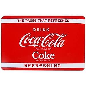 Coca Cola -Set de Table Coca Cola Coke Pub Vintage USA Rouge