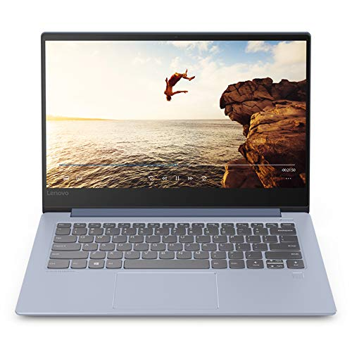 "Lenovo 81EU00GTIX Portatile Ideapad 530S-14IKB, Display 14"" FHD IPS, Processore I5-8250U, RAM 8 GB, SSD 256 GB, Scheda Grafica Integrata, Wi-Fi AC, BT 4.1, Windows 10"
