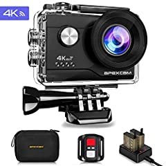 Apexcam 4K Action cam 20MP
