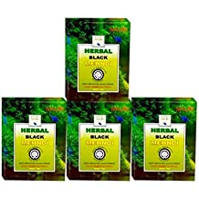 Khadi Mauri Herbal Black Henna, 75g (Pack of 4)