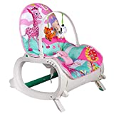 Baby Bucket Newborn to Toddler Rocker Cum Reclining Chair with Soothing Vibrations