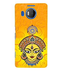 PrintVisa Goddess Of Earth 3D Hard Polycarbonate Designer Back Case Cover for Microsoft Lumia 950 XL :: Microsoft Lumia 950 XL Dual SIM