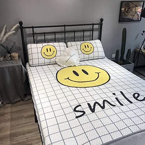 Vorteil Set Matratze (ZMLI Sommer Schlafmatte Sommer Matte Matten Rattansitze Klimaanlage Schlafmatte Matratze Silk Matte Dreiteilige Weiße Gitter60 * 120 Dreiteilige)