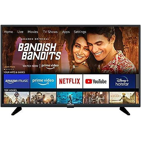 Onida 80 cm (32 Inches) Fire TV Edition HD Ready Smart LED TV 32HIF1 (Black) (2020 Model)