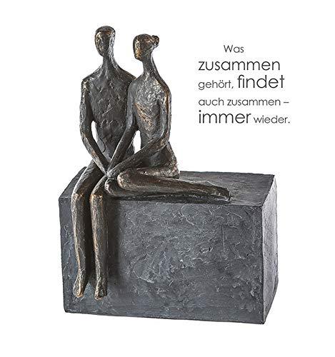 Casablanca – Skulptur/Dekofigur / Figur – Conversation- Polyresin – Höhe 25 cm
